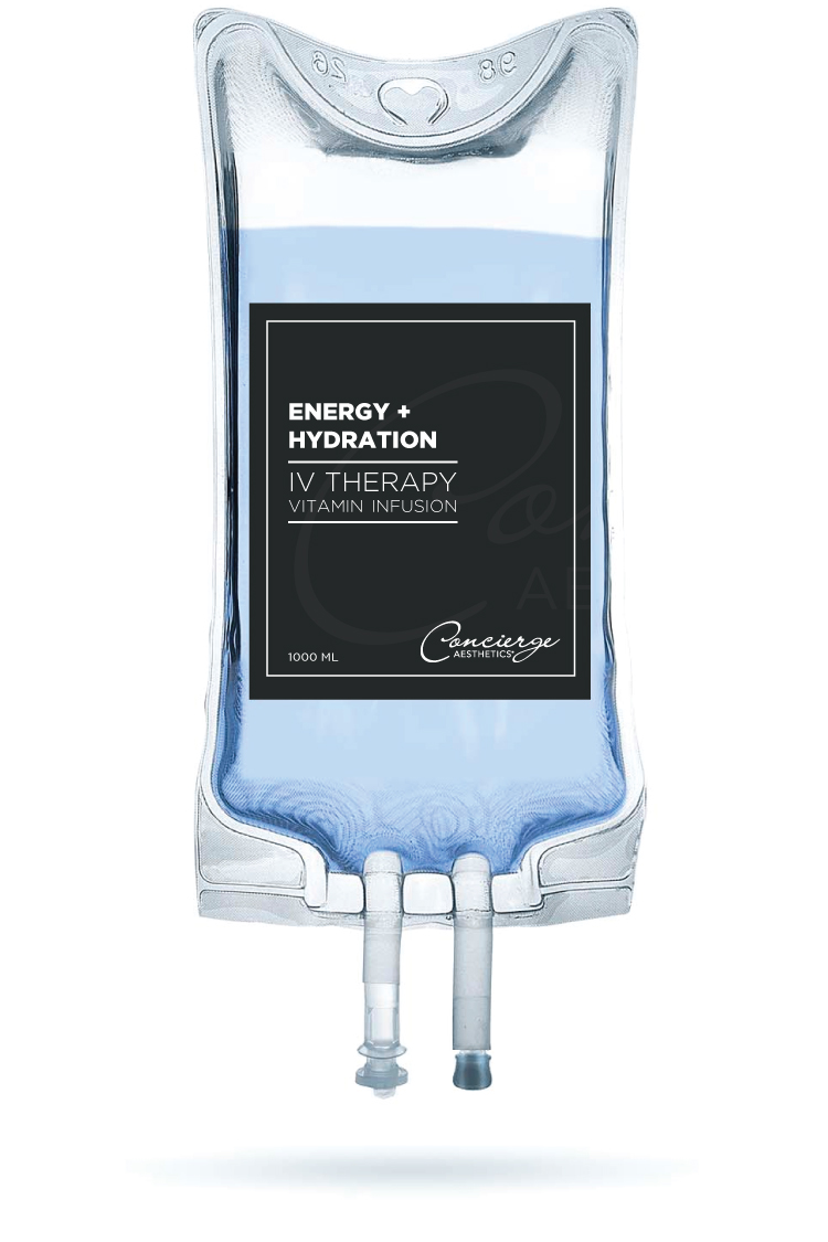 IV Vitamin Infusion Therapy - Energy + Hydration - Concierge Aesthetics - Irvine, Orange County