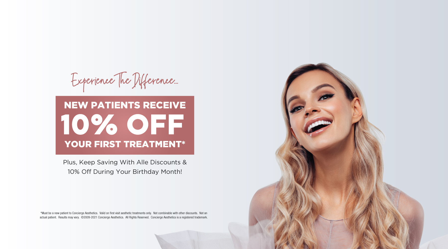 New Patients Receive 10% Off - Concierge Aesthetics - Irvine, Orange County